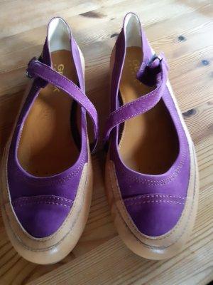 Geox Zapatos formales sin cordones violeta oscuro