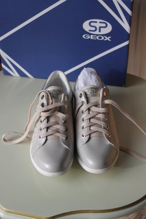 Geox Sneaker helltaupe-creme Gr.38