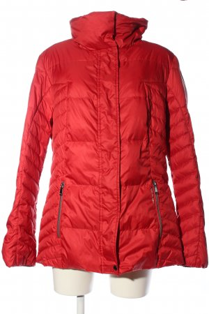 Geox Steppjacke rot Steppmuster Casual-Look