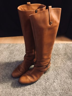 Geox Jackboots brown-light brown leather