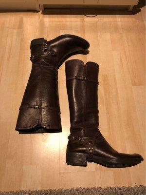 Geox Botas de equitación marrón Cuero