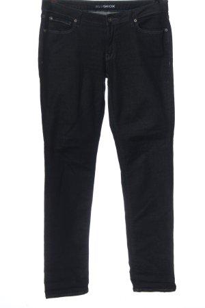 Geox Jeans slim fit nero stile casual