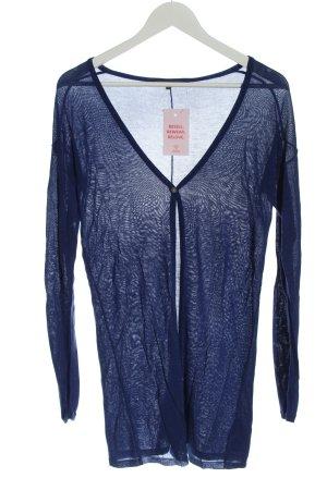 Geox Cardigan in maglia blu stile casual