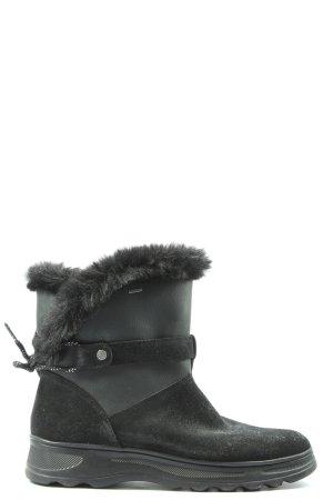 Geox Botines de invierno negro look casual