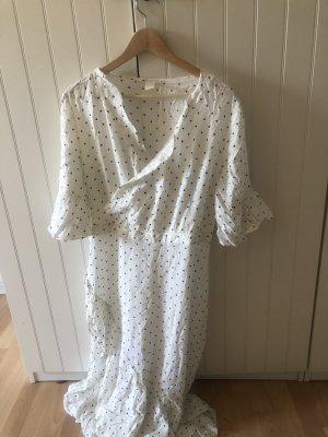 H&M Sukienka maxi biały