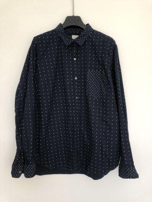 Gepunktete Bluse von GAP - Gr. L