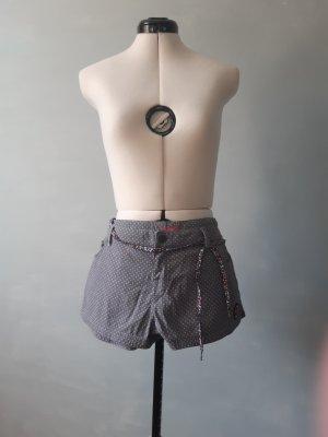 Roxy Short moulant blanc-gris
