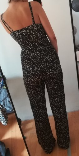 New Look Langer Jumpsuit bianco-nero