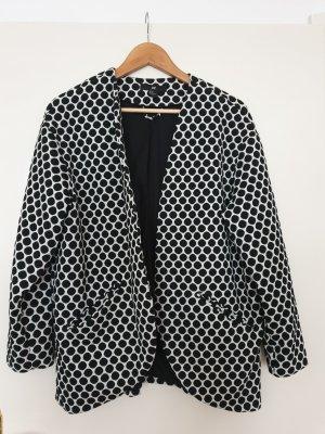 Gepunkteter Long-Blazer von H & M
