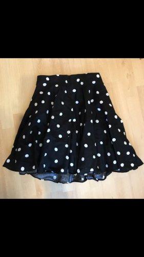 Mint&berry Skaterska spódnica czarny-biały