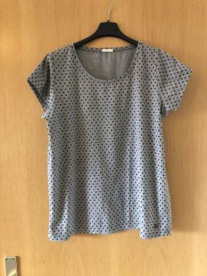 Nümph T-Shirt black-grey
