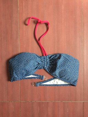 Bikini blu-magenta