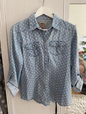 Gepunktetes Hemd von Only