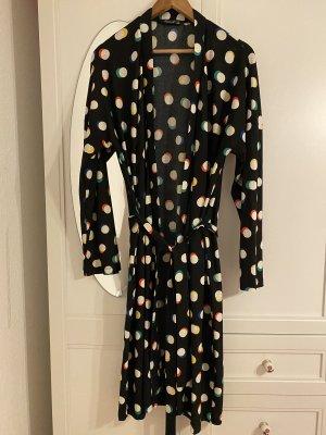 Gepunktetes Kimono Blazer/Kleid