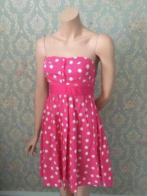 Gepunktetes Kleid 38
