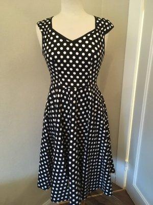 Gepunktetes Kleid Gr36/38