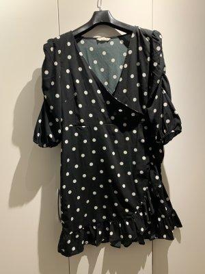 Gepunktetes Kleid Größe 42
