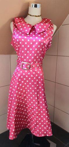 Petticoat Dress white-pink
