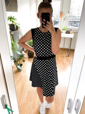 Gepunktetes Sommer Kleid Vintage Retro Pünktchen