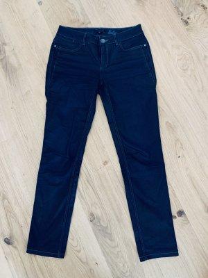 """Gerade blaue Jeans Hüftjeans """"Heather"""" von More&More Gr.36/S"""