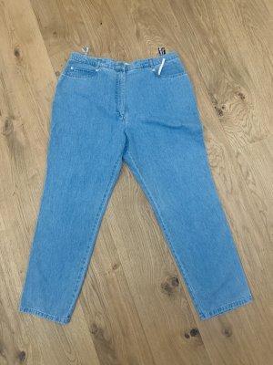 Cassani Jeans met rechte pijpen lichtblauw-korenblauw Katoen