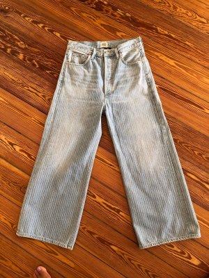 Gerade geschnittene High Waist Jeans mit Streifen von Citizens of Humanity