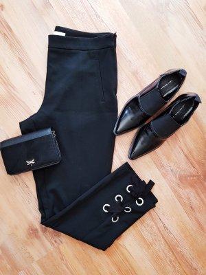 Gerade-geschnittene Hose mit Ösen Gr.42 H&M