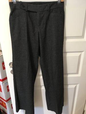 Gerade geschnittene Hose von MEXX Gr 38 schwarz meliert