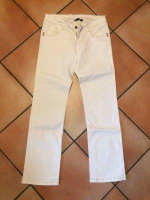 Esmara Pantalone boyfriend bianco