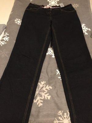 John Baner Marlene jeans donkerblauw