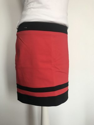 Orsay Spódnica midi czarny-czerwony