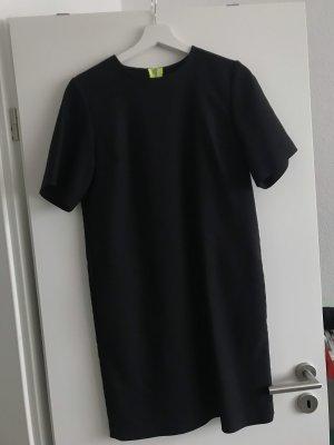 Alexander Wang Shortsleeve Dress black-neon green