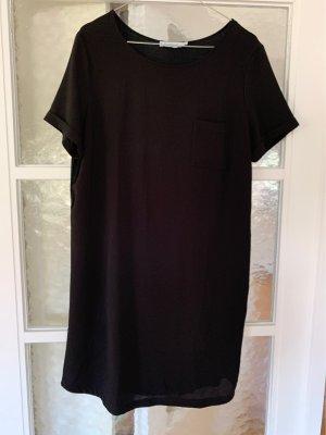 Gerade geschnittenes schwarzes Kleid von Conbipel aus Italien