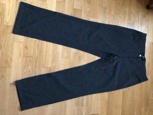 Pantalon taille haute gris anthracite-gris foncé