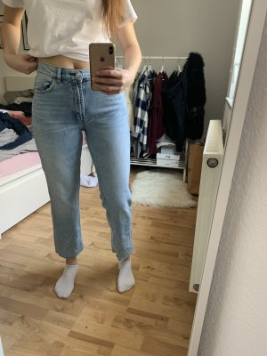 Gerade Jeans cropped