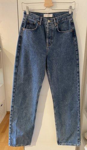 Gerade Jeans im Vintage-Style