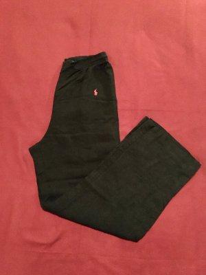 Gerade Lange schwarze Hose