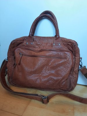 Feynsinn Laptop bag brown-cognac-coloured