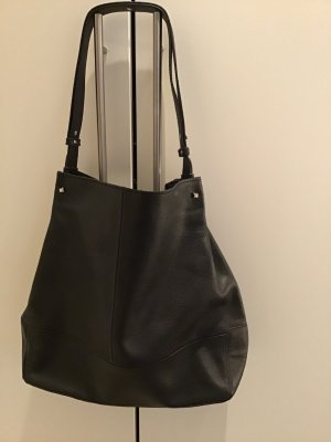 Anna Field Hobos black leather