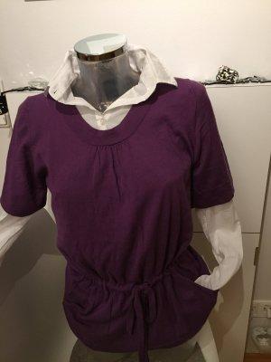 Gerard darel 2 Pullover lila 38 M wolle Neu
