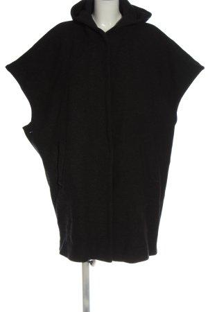 Gerard darel Capuchon vest zwart casual uitstraling