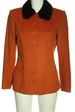 Gerard darel Short Coat light orange casual look