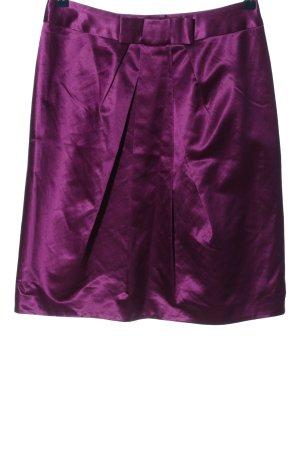Gerard darel Zijden rok lila casual uitstraling