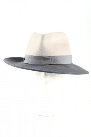 Gerard darel Woolen Hat light grey-cream business style