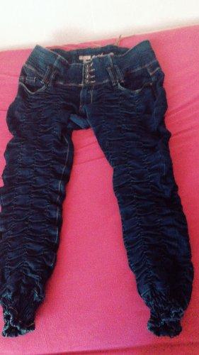 Biker Jeans brown-dark blue