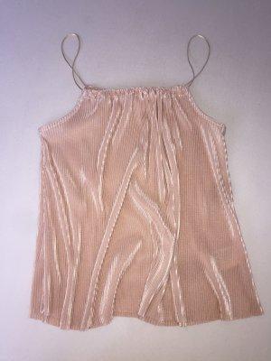 H&M Top monospalla rosa antico