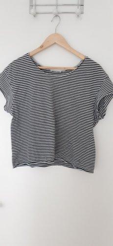 geringeltes t-shirt ZARA