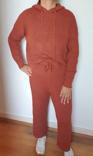 SheIn Ensemble en tricot brun