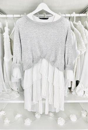 Gerippter Basic Pullover