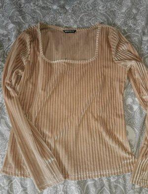 SheIn Crewneck Sweater beige